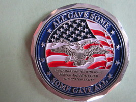 United States Air Force Challenge Coin(Some Gave All) NEW--LPG41-7 - $11.90
