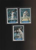 1982 Fleer Yankees Tommy John Graig Nettles Lou Piniella - $1.33