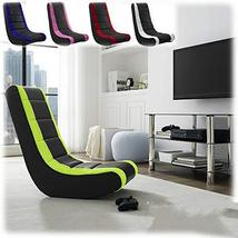 Chair Meshed Kid Adult Upholstery Reading Gaming Sofa Home TkPrime (Black) - $99.00