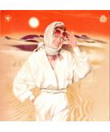 Desert Beauty 1985 AD Burlington Cool Wool Worsted Fashion Clothing Adve... - $10.99