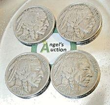 Buffalo Nickel 1934, 1935, 1936 and 1937  AA20BN-CN6091 image 9
