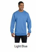 New  Champion 2X 50/50 Eco Smart Crew Neck Sweatshirt Light Blue - $9.49