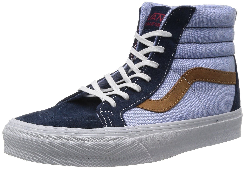 b26487cb7b NEW Vans SK8-HI REISSUE CA (C P) Dress Blues Men s Skate Shoes Size
