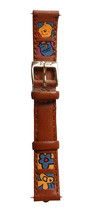 Disney Winnie the Pooh Squares leather Honey Flower Bee 14mm watchband D-112 NWT