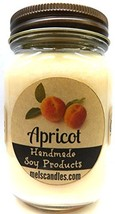 Apricot - 16oz Country Jar All Natural HAND MADE Soy Candle - $16.34