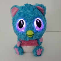 Hatchimals Hatchibabies CHEETREE Blue Pink Baby Owl Interactive Pet Spin Master - $19.34