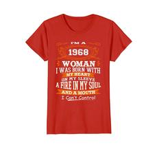 Dad Shirts - Funny Vintage I'm Woman 1968 50th Years Old Birthday Shirt Wowen image 2