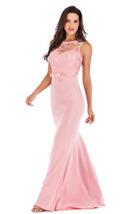 lace long bodycon party dress solid color off shoulder ladies gown 3 colors - $19.50