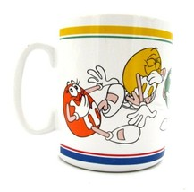 """Laughing It Up Giant Jumbo 5"""" tall M&M's Candy Coffee Cup Mug  - $19.39"""