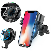 Qi Wireless Car Charger Charging Pad w/ Air Vent Mount Holder for Smartp... - $27.00
