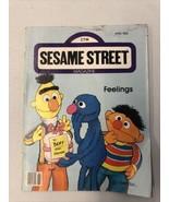 Vintage CTW Sesame Street MagazineApril 1983 Feelings Bert Grover  - $9.49