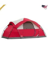 Coleman 8-Person Tent Waterproof Weathertec All Season Camping Hiking Ou... - $151.88