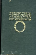THE DIVINE COMEDY OF DANTE ALIGHIERI Translated by Henry Wadsworth Longf... - $245.00