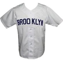 Brooklyn Loons Retro Baseball Jersey 1951 Button Down White Any Size image 1