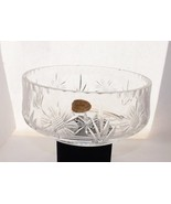 Kristallskal Crystal Serving Bowl Akta Bohmisk (Czech Repulic) Tableware... - $34.99