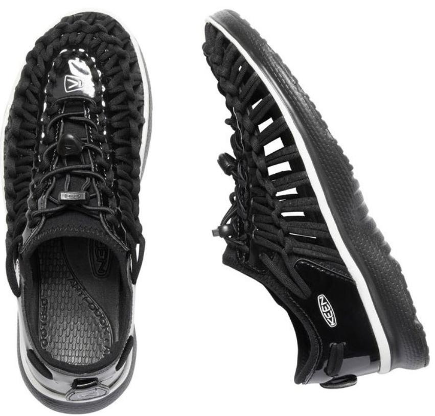 Keen Uneek O2 Größe 7 M (B) Eu 37,5 Damen Sport Sandalen Schuhe Black Bear