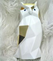 Lladro Owl Porcelain Figure Origami Collection Geometric Facets Graffiti Colors - $175.00