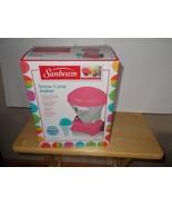 Sunbeam Snow Cone Maker Pink EUC - $24.99