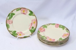 "Franciscan Desert Rose Salad Plates 7.875"" Lot of 6 - $39.19"