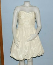 David's Bridal Style KP3265 Ivory Wedding Gown Dress 2 in 1 size 14 Empi... - $178.20