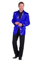 Gents 2017 style Sequinned Cabaret Jackets - Blue - $73.01