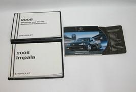 2005 Chevrolet Impala Factory Original Owners Manual Book Portfolio #18 - $17.77