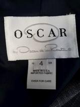Oscar de la Renta Women Gray Blazer Suit Jacket Size 4 Made in USA image 4