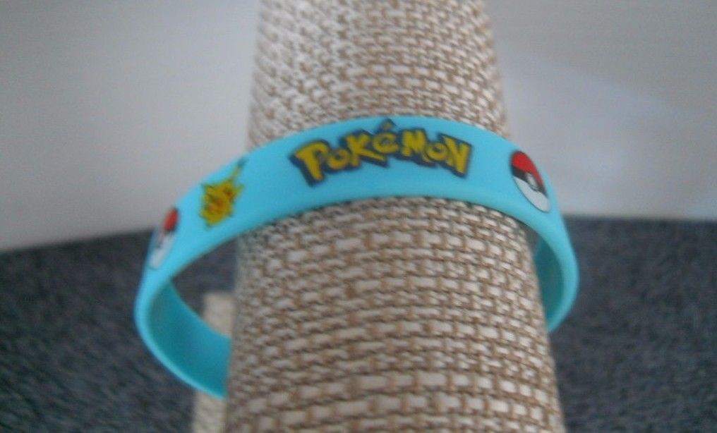 Pokemon Rubber Bracelets Wristband Birthday And Similar Items S L1600