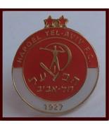 Hapoel Tel Aviv FC football / soccer pin Israel fan club - £7.38 GBP
