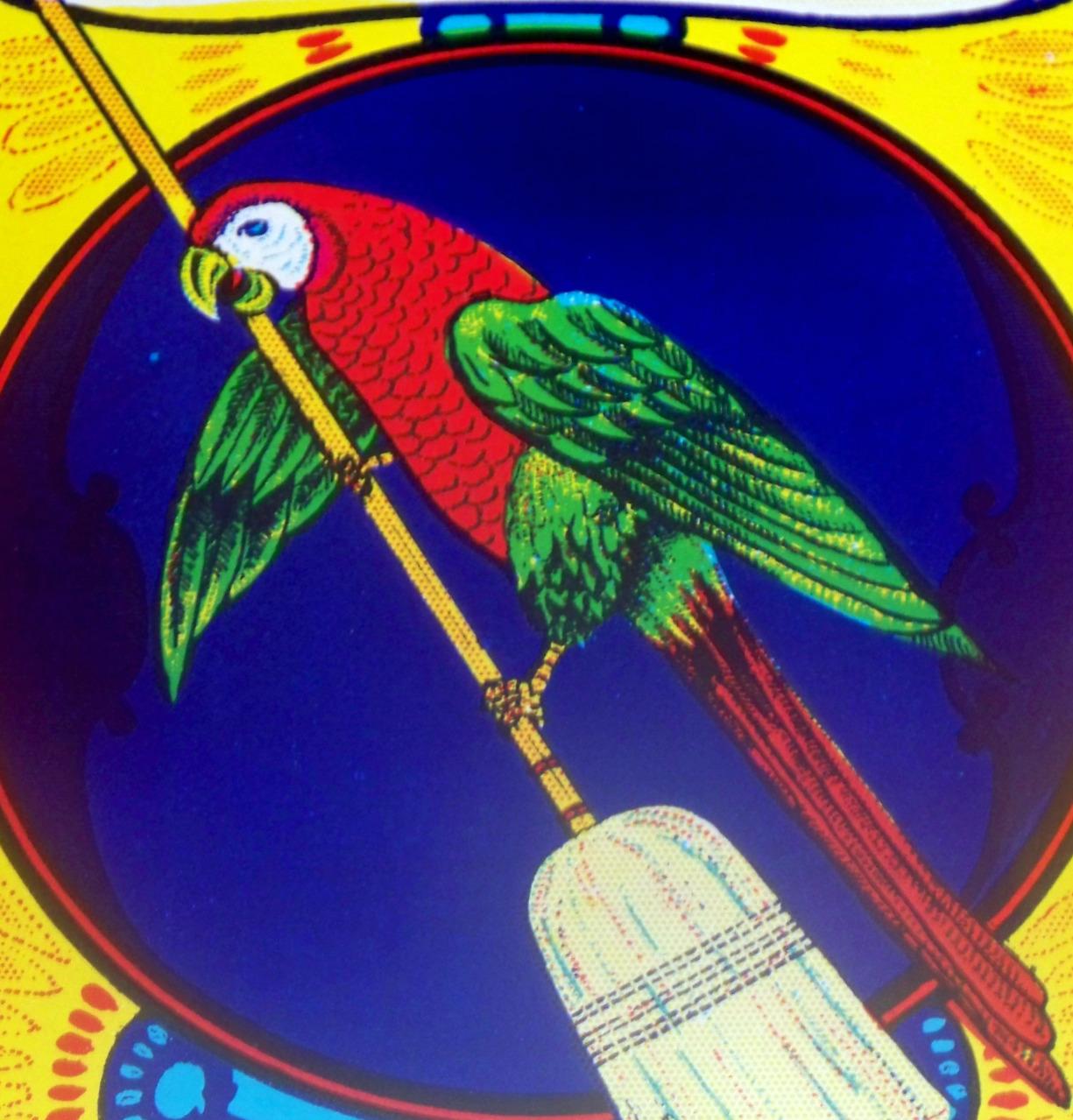 Parrot broom label 002