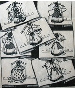 Black Americana Mammy DOW towel embroidery transfer pattern ab5547   - $5.00