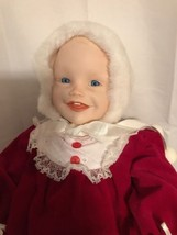 "Knowle's Picture Perfect Baby ""Jennifer"" Doll With COA & Pamphlet No Box - $17.77"