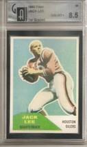 1960 Fleer #38 Jack Lee GAI 8.5 NM MT+ RC Rookie - $64.35