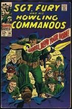 Sgt Fury #56 ORIGINAL Vintage 1968 Marvel Comics - $14.84