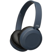 JVC HAS31BTA Foldable Bluetooth On-Ear Headphones (Slate Blue) - $83.82