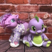 My Little Pony Baby Alive Spike the Baby Dragon Interactive Plush Toys Hasbro - $35.00