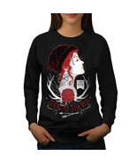 Slick As Thieves Fashion Jumper Goth Girl Women Sweatshirt - $18.99
