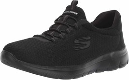 Womens Skechers Summits Slip On Sneakers - Black, Size 5.5 - $69.99