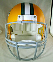 BART STARR / AUTOGRAPHED FULL SIZE GREEN BAY PACKERS THROWBACK HELMET / STEINER image 4
