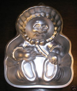 Wilton Cake Pan CABBAGE PATCH KIDS PREEMIE 1985