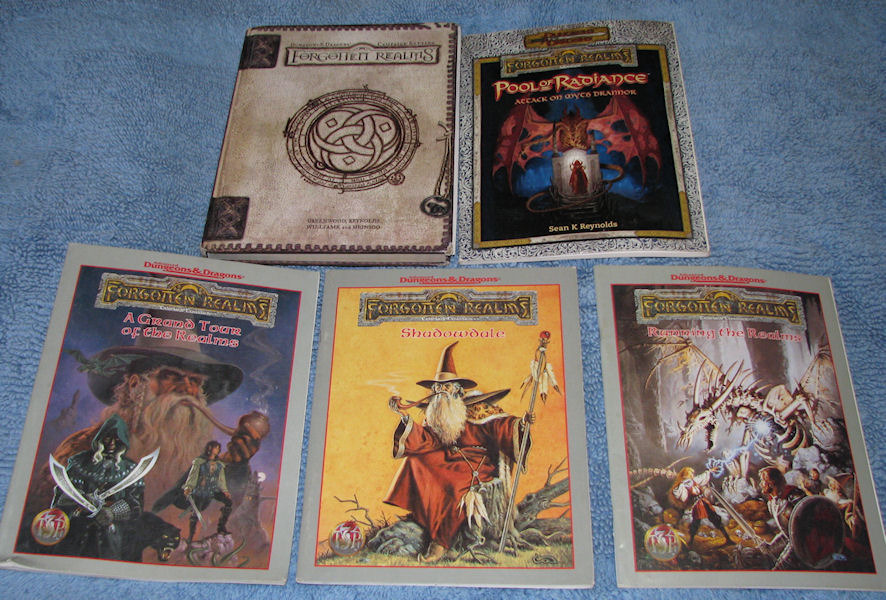 SOLD - Lot of 5 D&D Forgotten Realms RPG and 50 similar items
