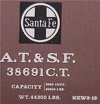 Micro Trains 39060 ATSF 40' Boxcar 38691 - $28.50
