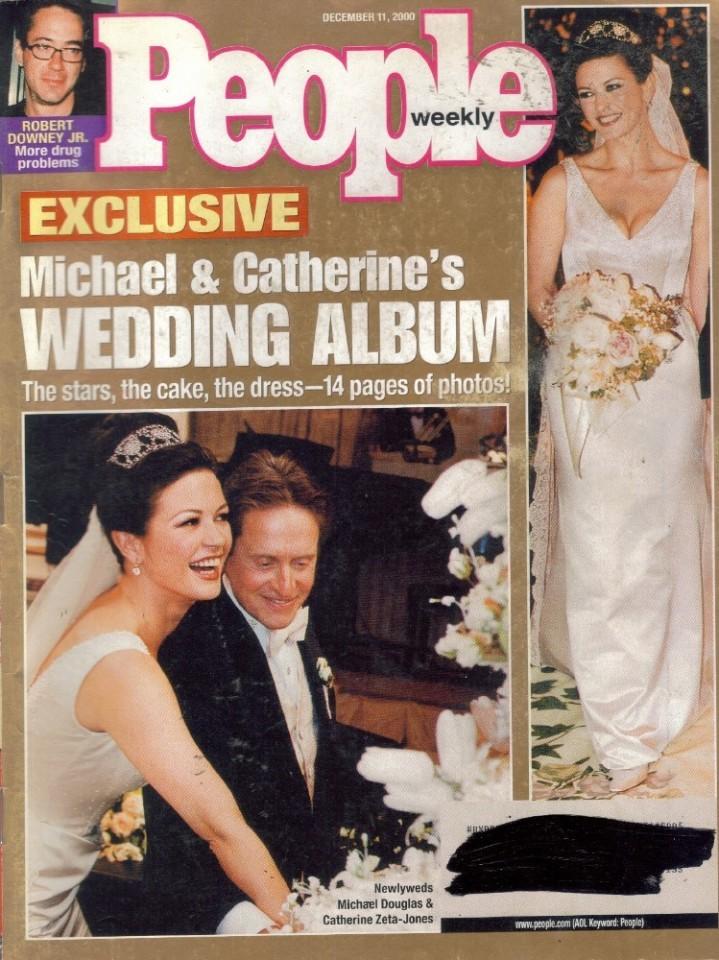 People Celebrity Weekly Magazine, December 11 2000, Exclusive Wedding Album