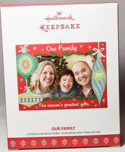 Hallmark: Our Family - Photoholder - Season's Greatest - 2017 Keepsake O... - $9.11