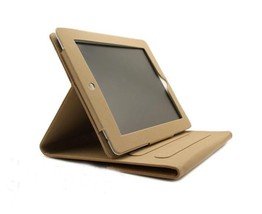 Brown Leather Skin Briefcase Sleeve Case Cover Kickstand For Apple iPad ... - $27.99
