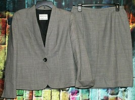 Women's Mary Kay By Brookhurst Inc Lined Wool 2 Piece Skirt Size 12R & J... - $41.58