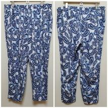 Lauren Ralph Lauren Paisley Print Pant Plus Size 14 - $14.84