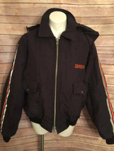 Fedex Express Coat Sz XL Regular Uniform Hooded Stan Herman - $49.49
