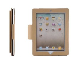 Gray Leather Briefcase Sleeve Case Cover Kickstand For Apple The New iPad 2 3 4 - $29.99
