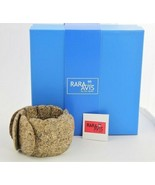 RARA AVIS by IRIS APFEL RECYCLED PAPER RUNWAY STATEMENT STRETCH BRACELET... - $65.00